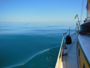 Flat calm - Gulf of Mexico