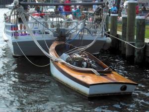 Skipjack 'outboard'