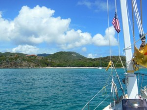 Away from the madding crowd in Rendezvous Bay