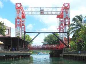 The lifting bridge