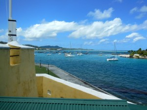 View from Fort Christian
