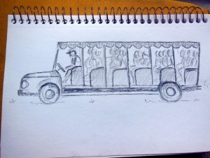 Rough sketch of a 'real' bus