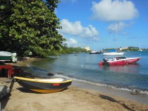 A handy beach for my dinghy