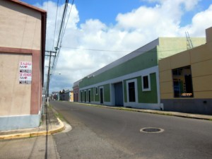 A typical street in the old port