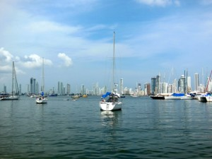 The anchorage at Cartagena