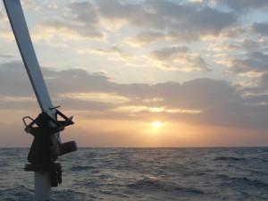 Dawn approaching Cabo de la Vela