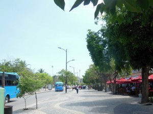 Santa Marta promenade