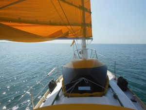 A gentle downwind sail
