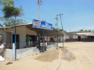 The supermarket in Berrugas