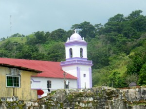 Church of San Felipe which houses a famous 'Black Christ'
