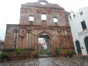 Rainy day in Casco Viejo