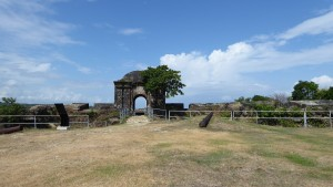 Entrance to Castillo San Lorenzo
