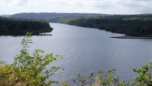 Chagres River with Speedwell just visible in the distance