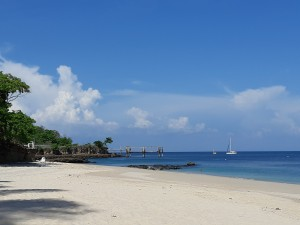 The beach at Contadora