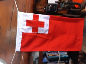 Tongan courtesy flag